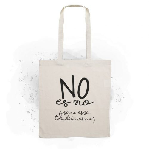 Tote Bag no es no