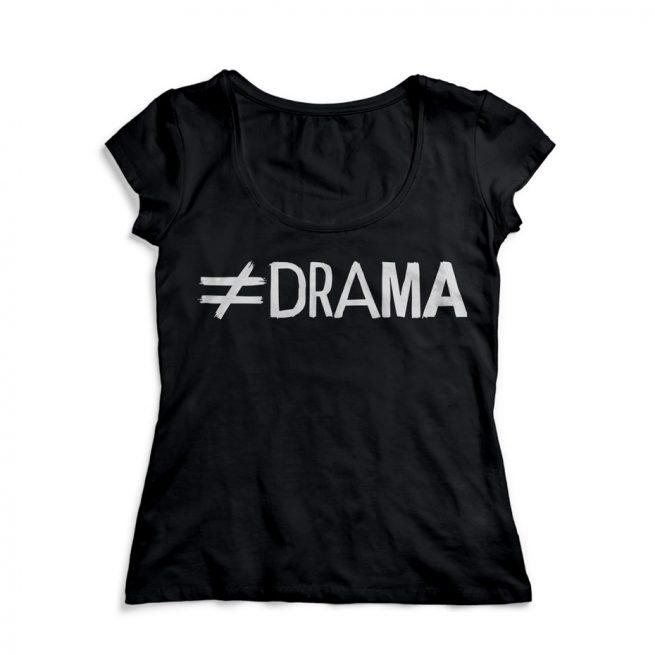 camiseta drama distinta