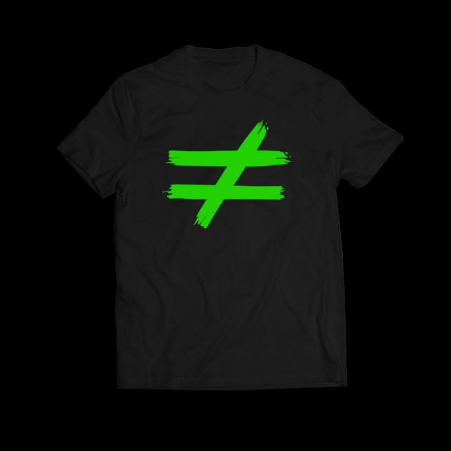 distinta verde fluor