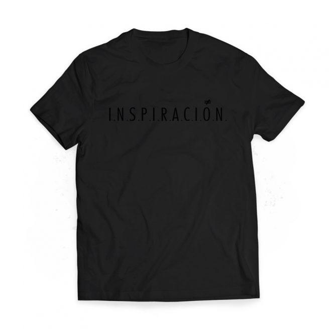 camiseta chico inspiracion black black