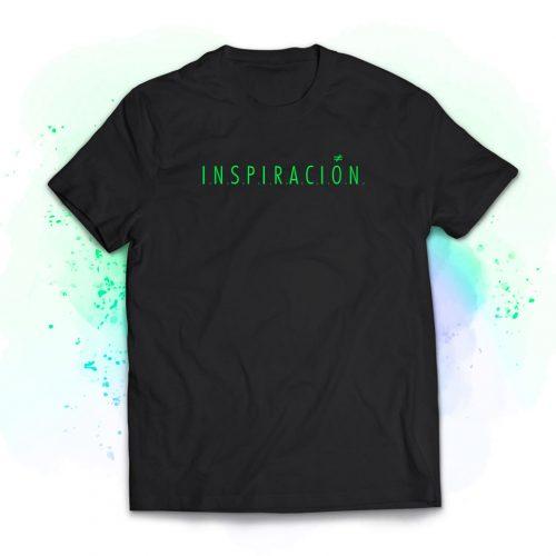 camiseta chico inspiracion verde