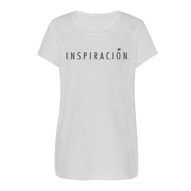 camiseta chica inspiracion blanca