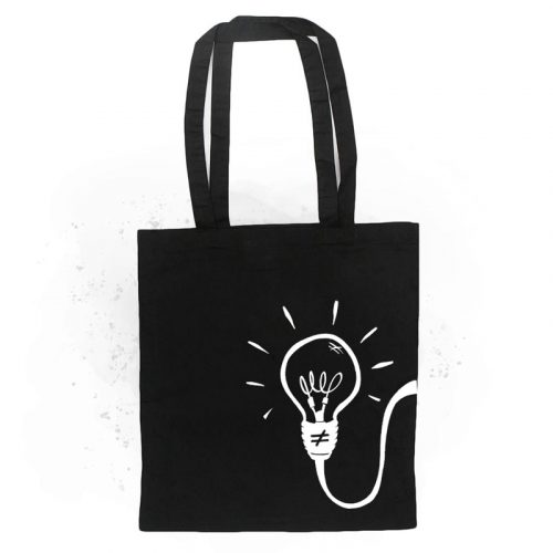 tote bag bombilla black